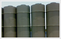 Cylindrical Chemical Resistant Tanks Image