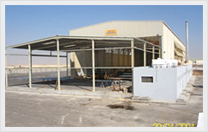 Hot Dip Galvanzing Plant Manufacturing Front View Image